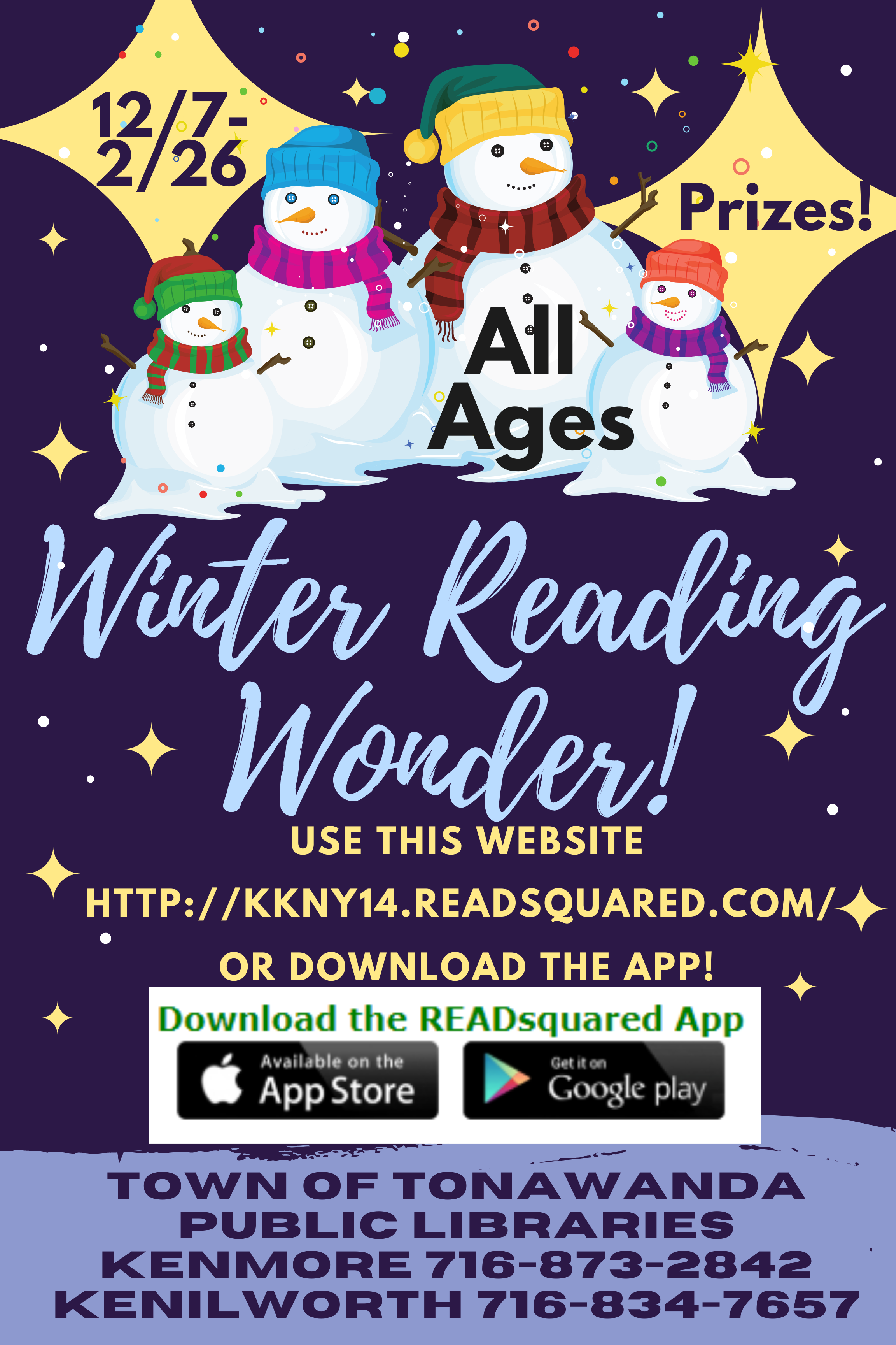 Winter Reading Wonder!