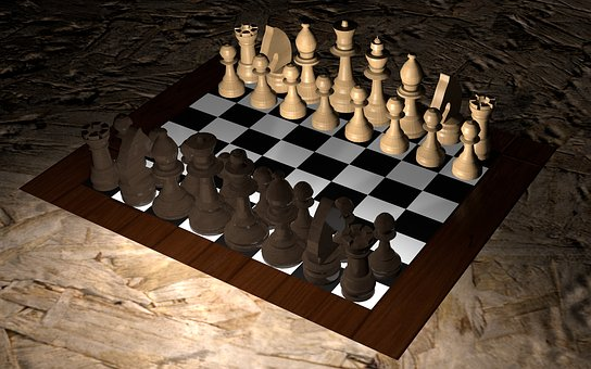 Drop-in friendly game of chess