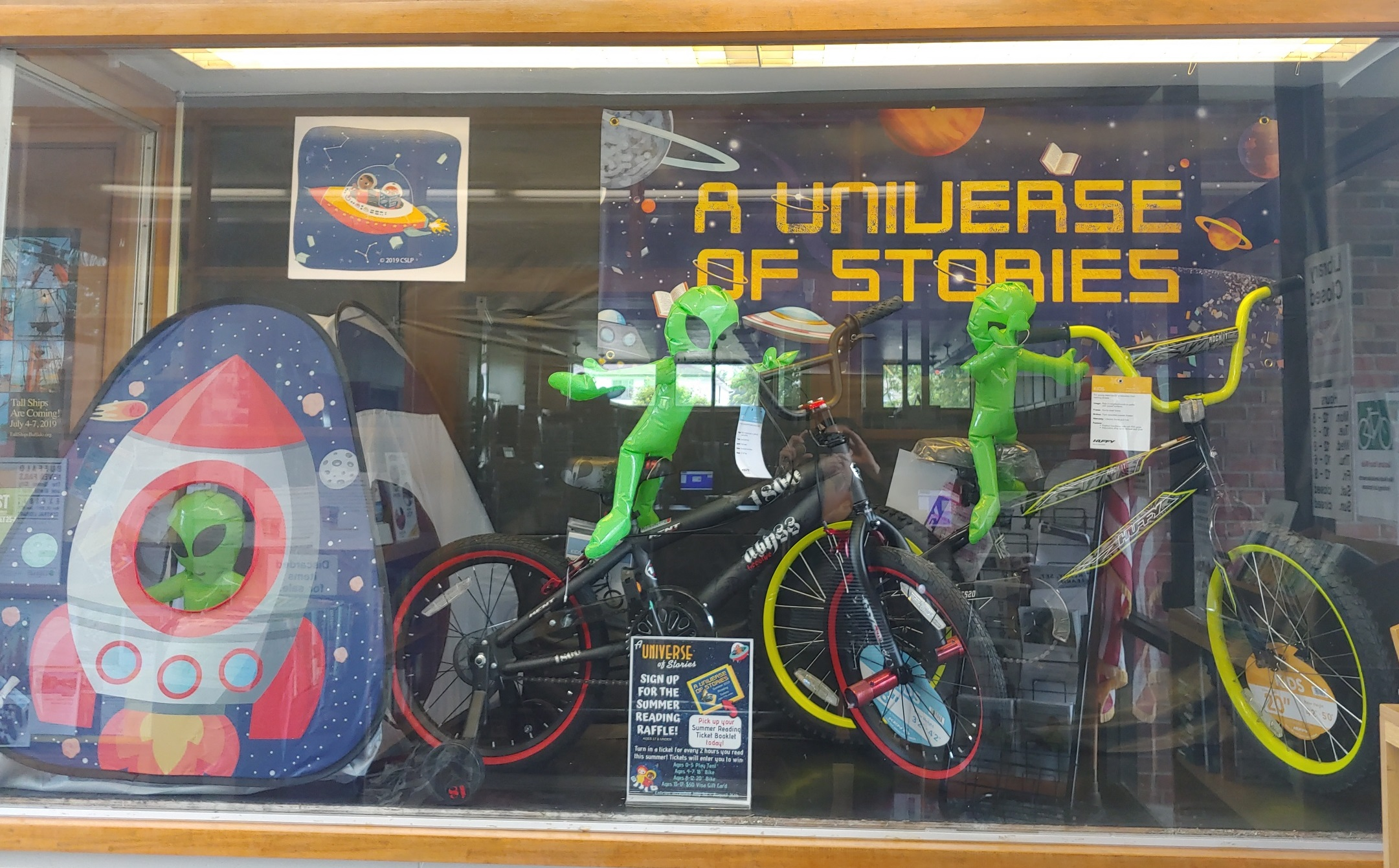 A Universe of Stories Summer Reading Raffle!