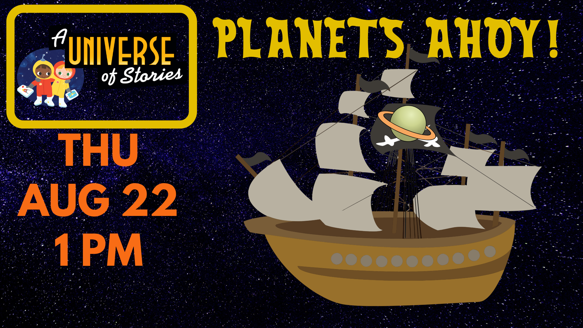 Pete the Pirate's Planets Ahoy!