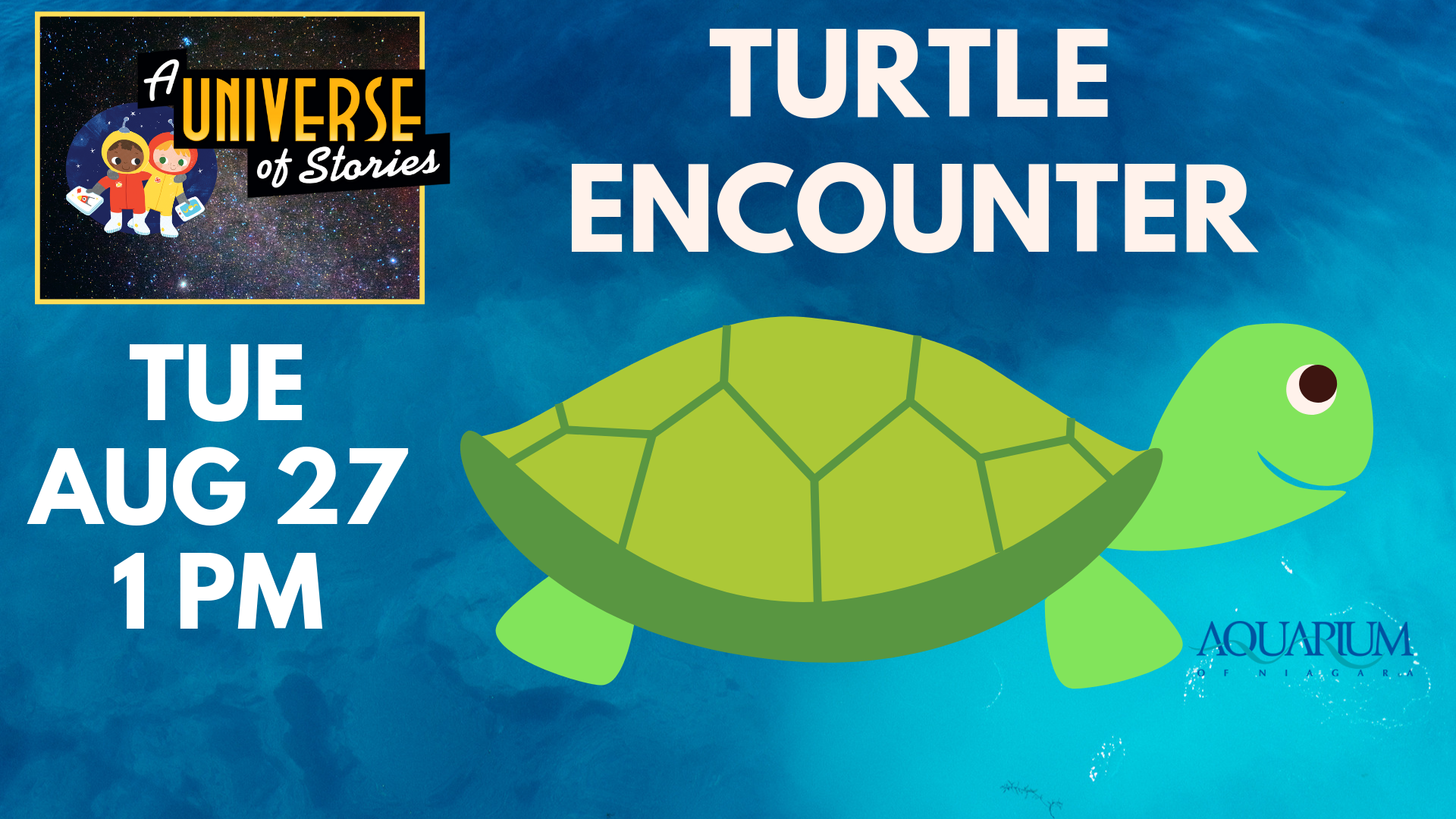 Aquarium of Niagara Presents Turtle Encounter