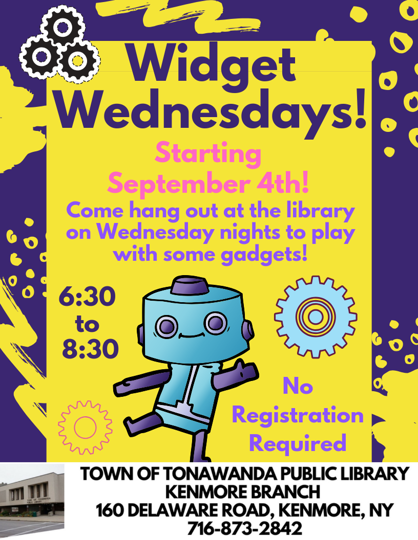 Widget Wednesdays!