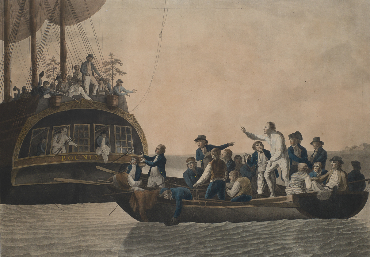 H.M.S. Bounty: A Mutiny in Paradise