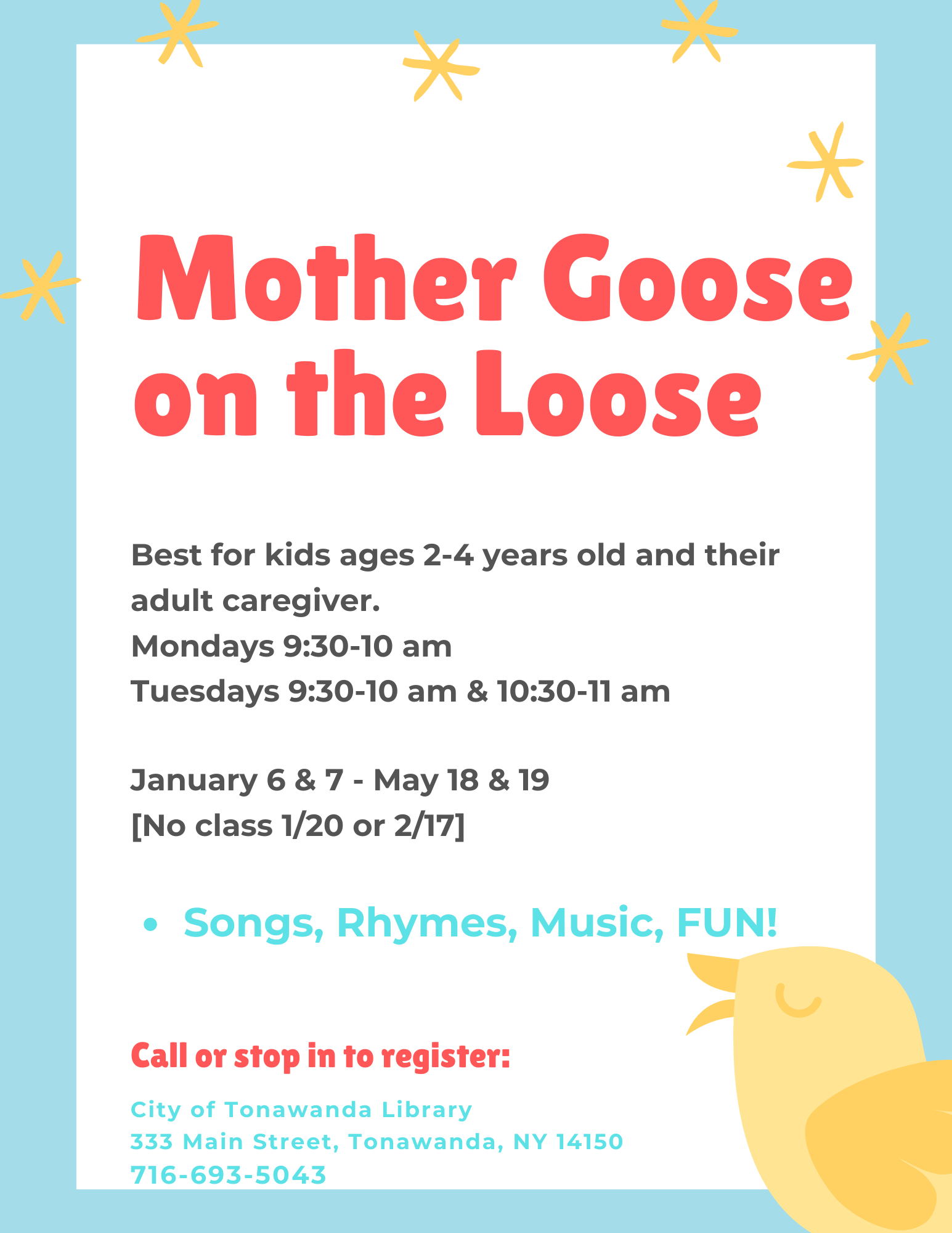 Mother Goose on the Loose Storytime