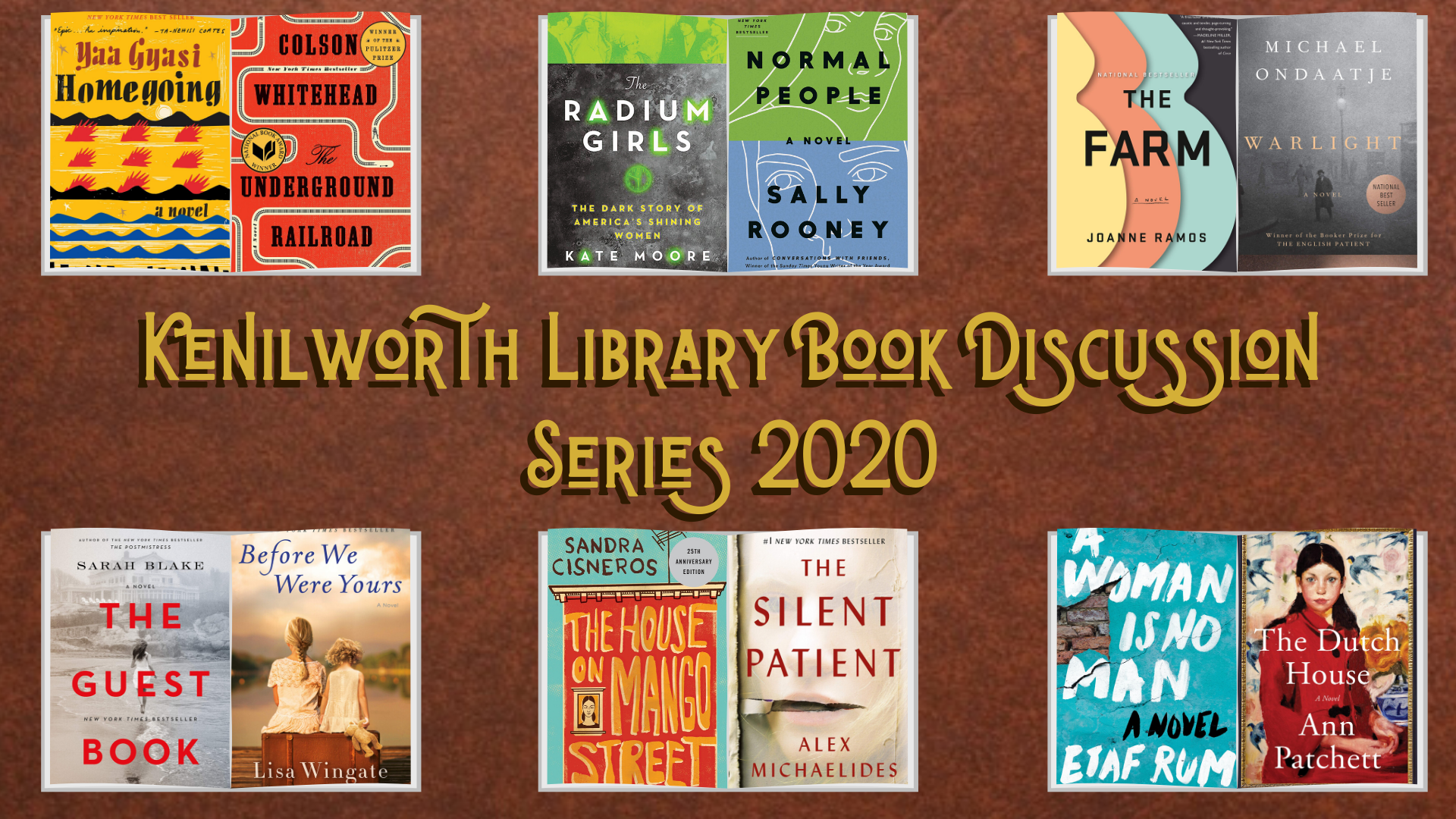 Kenilworth Library Book Discussion Series 2020
