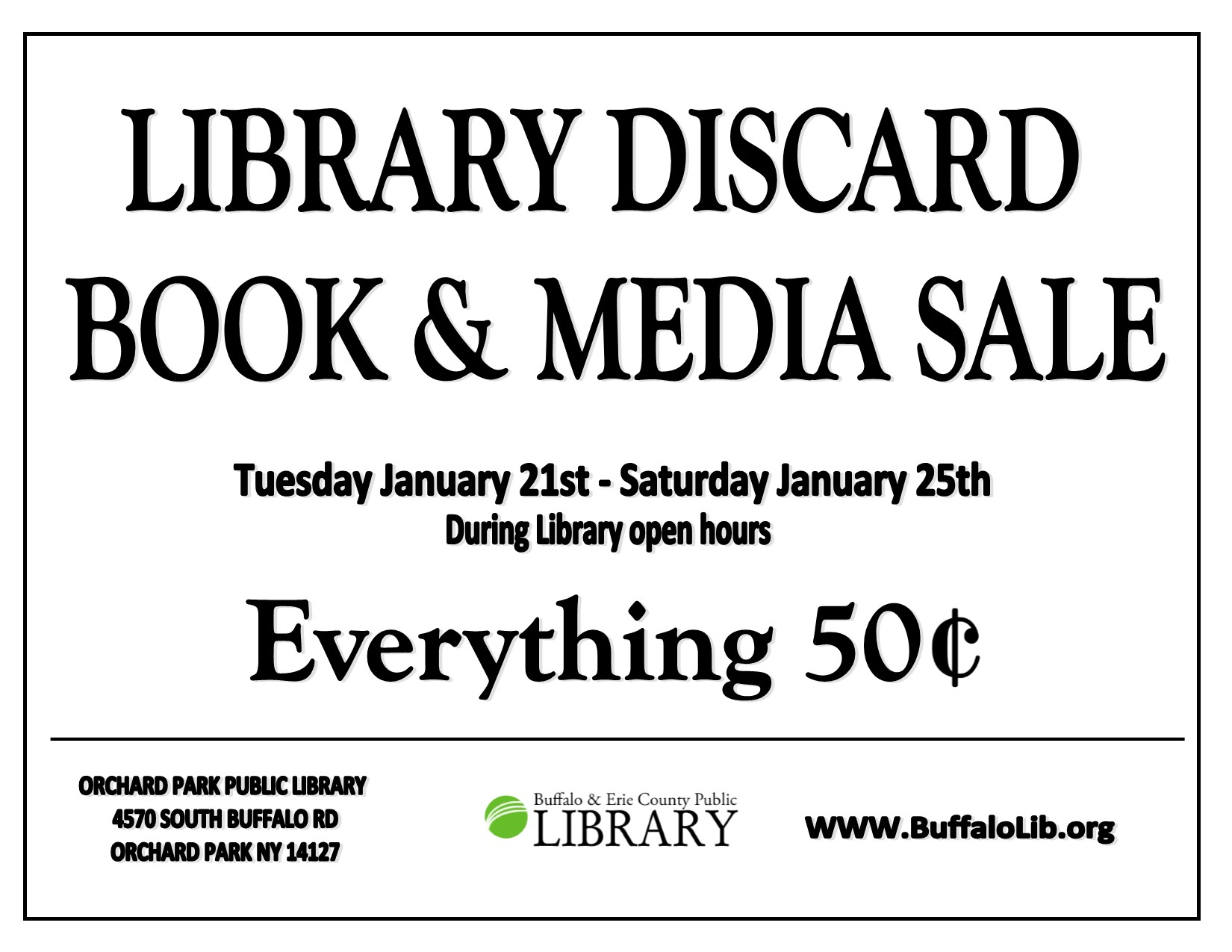 Library Discard Book Sale