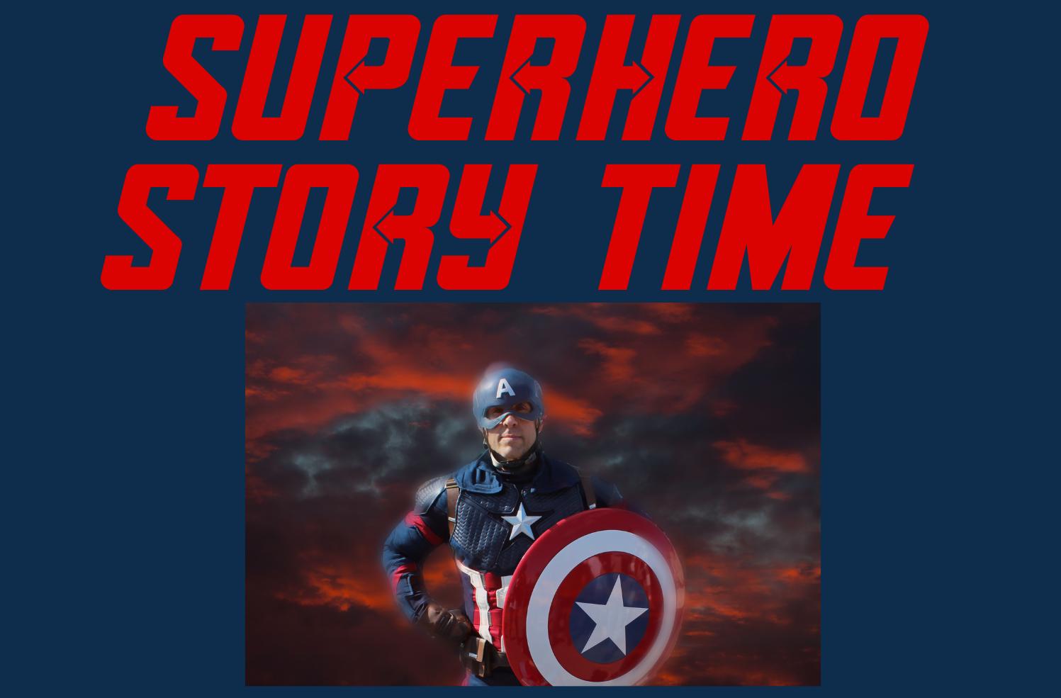 Superhero Story Time!