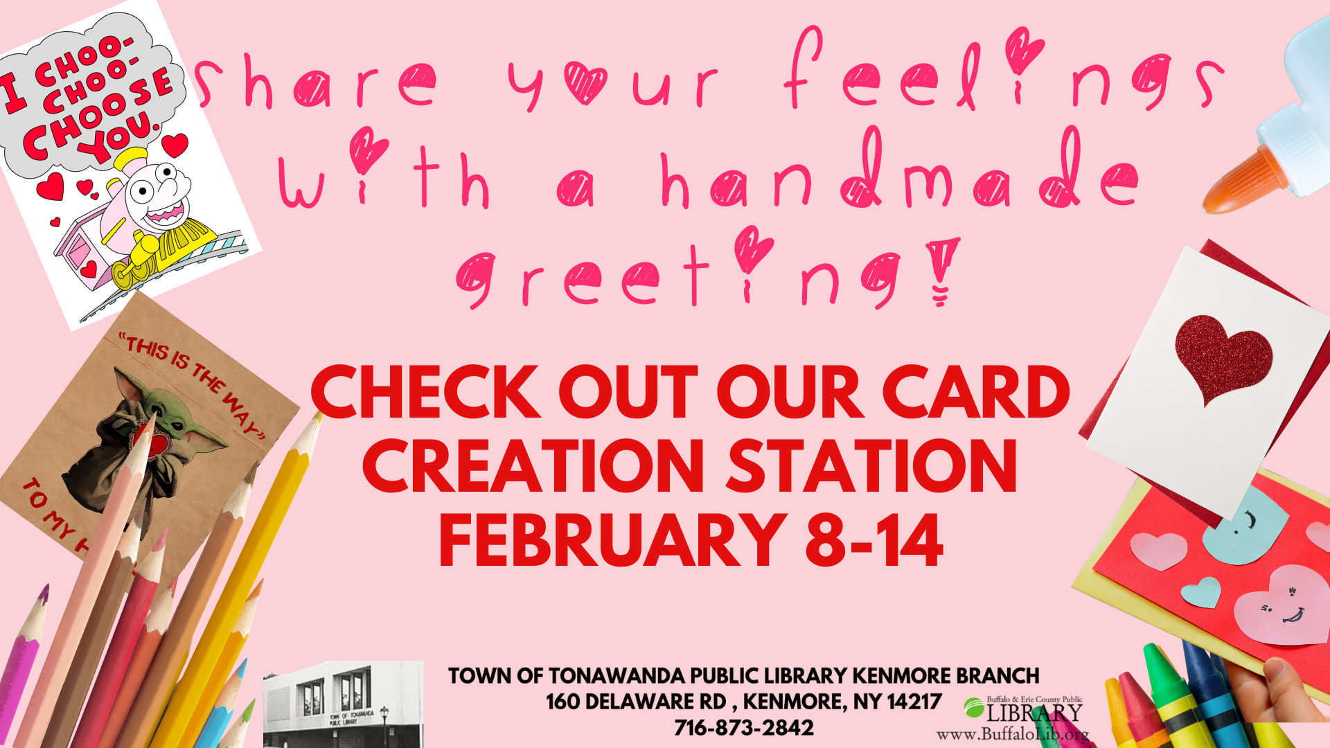 Card Creation Station: Valentine's Day