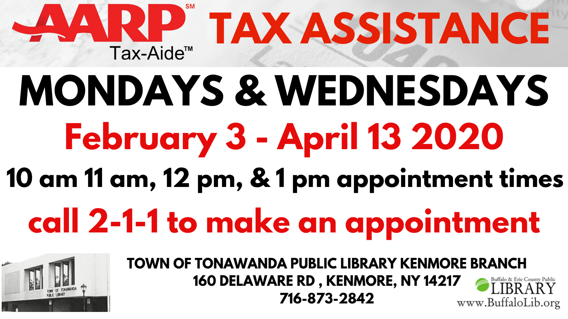 AARP Tax-Aide: Tax Assistance