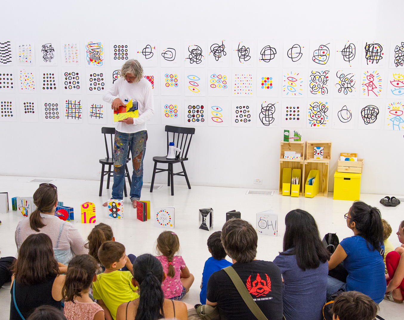 Albright-Knox Public Art Initiative: Reading and Art Workshop