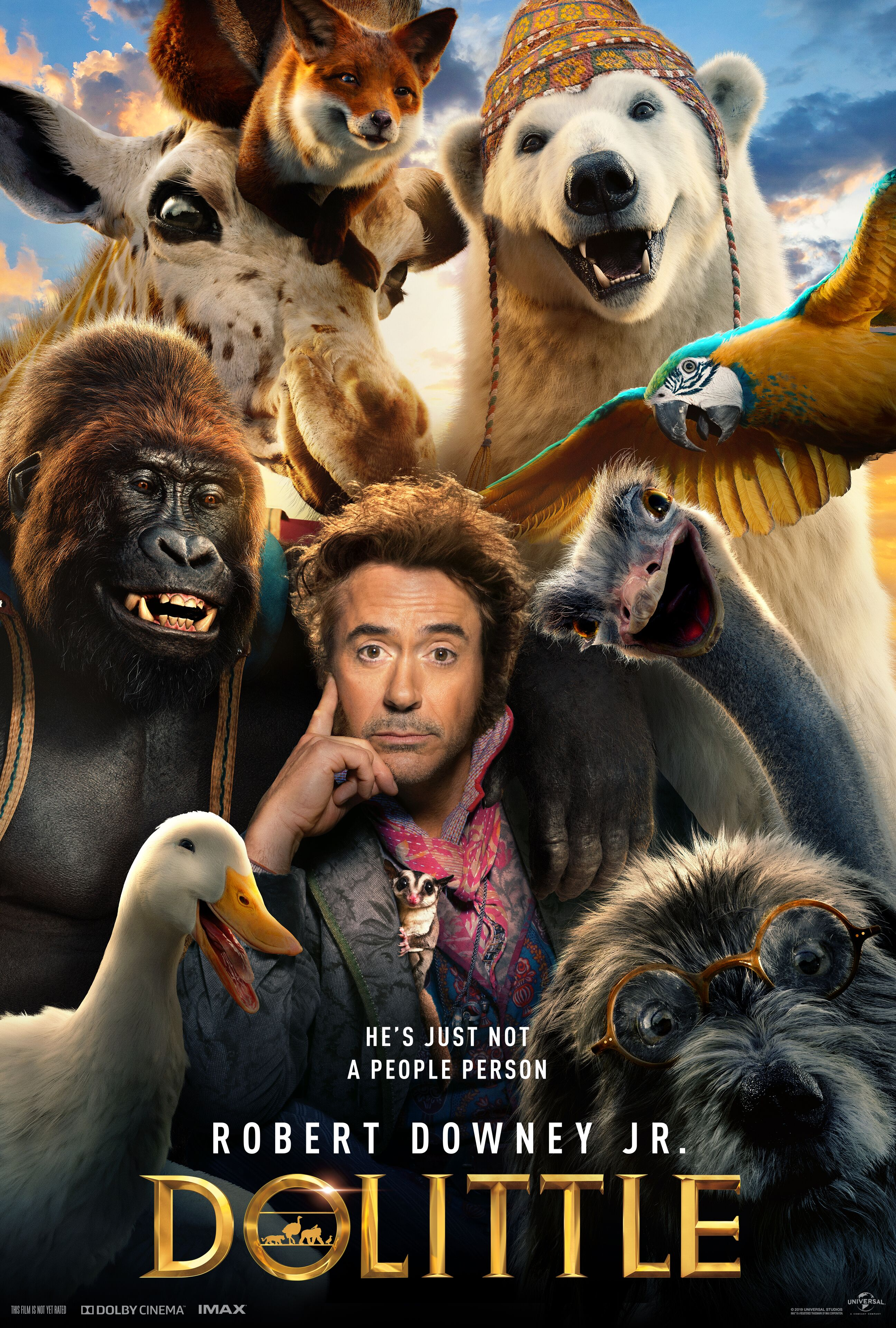 """Family Movie Matinee: """"Dolittle"""""""
