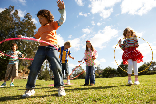 Hula Hooping Dance Class!