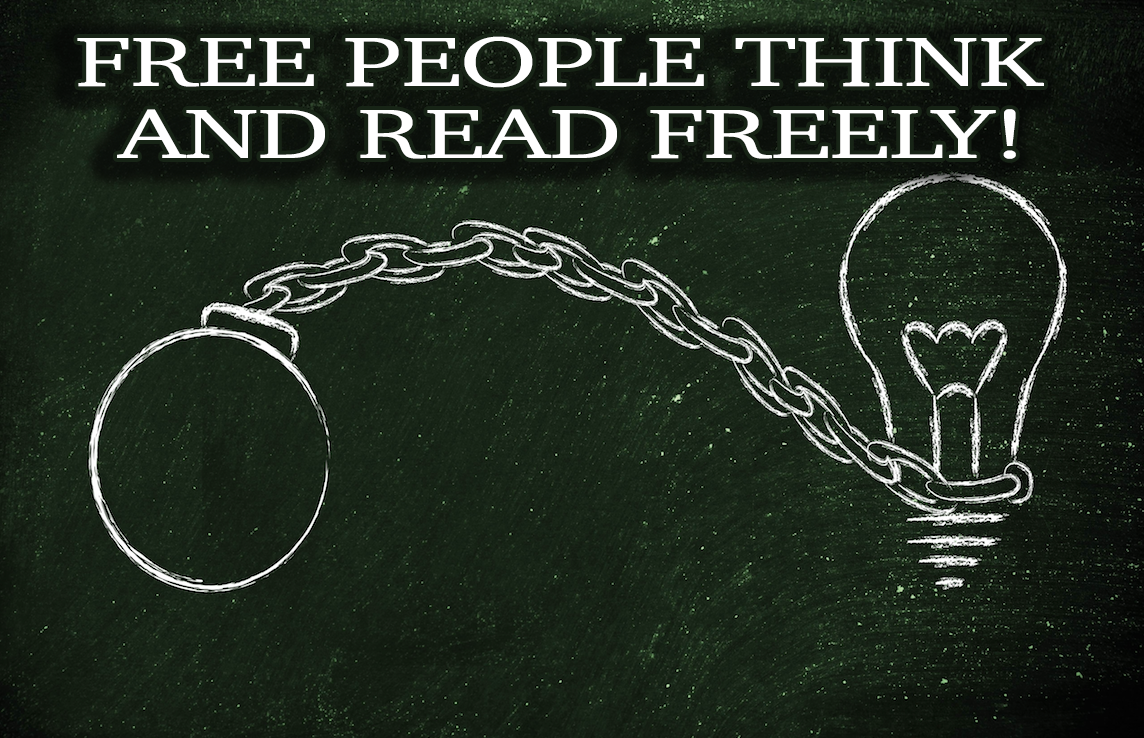Free People Think and Read Freely! - An Escape Room Experience