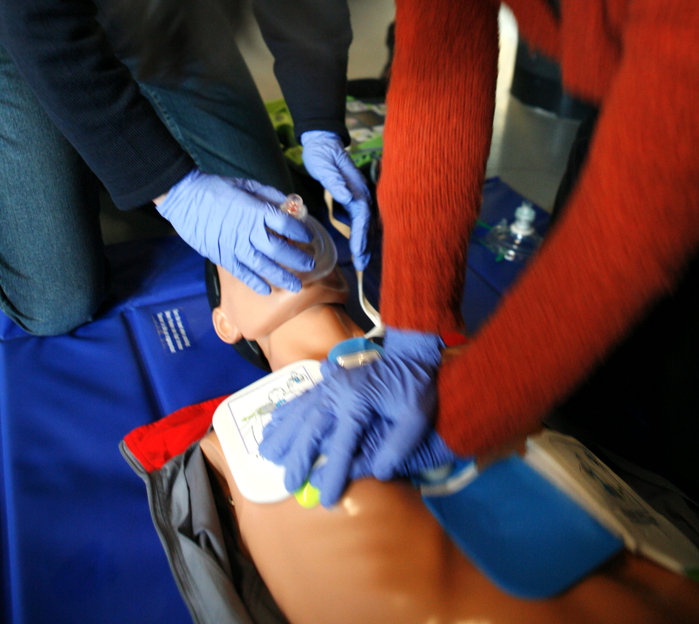 Community CPR and Naloxone Administration Class