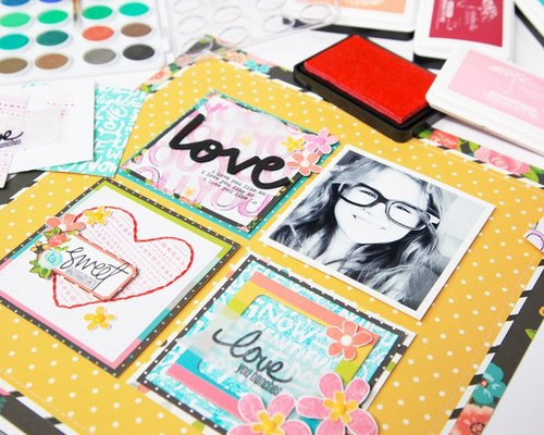 Teen Scrapbooking with Ms. Becky