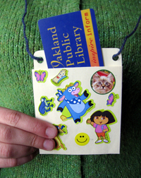 Library Card Craft