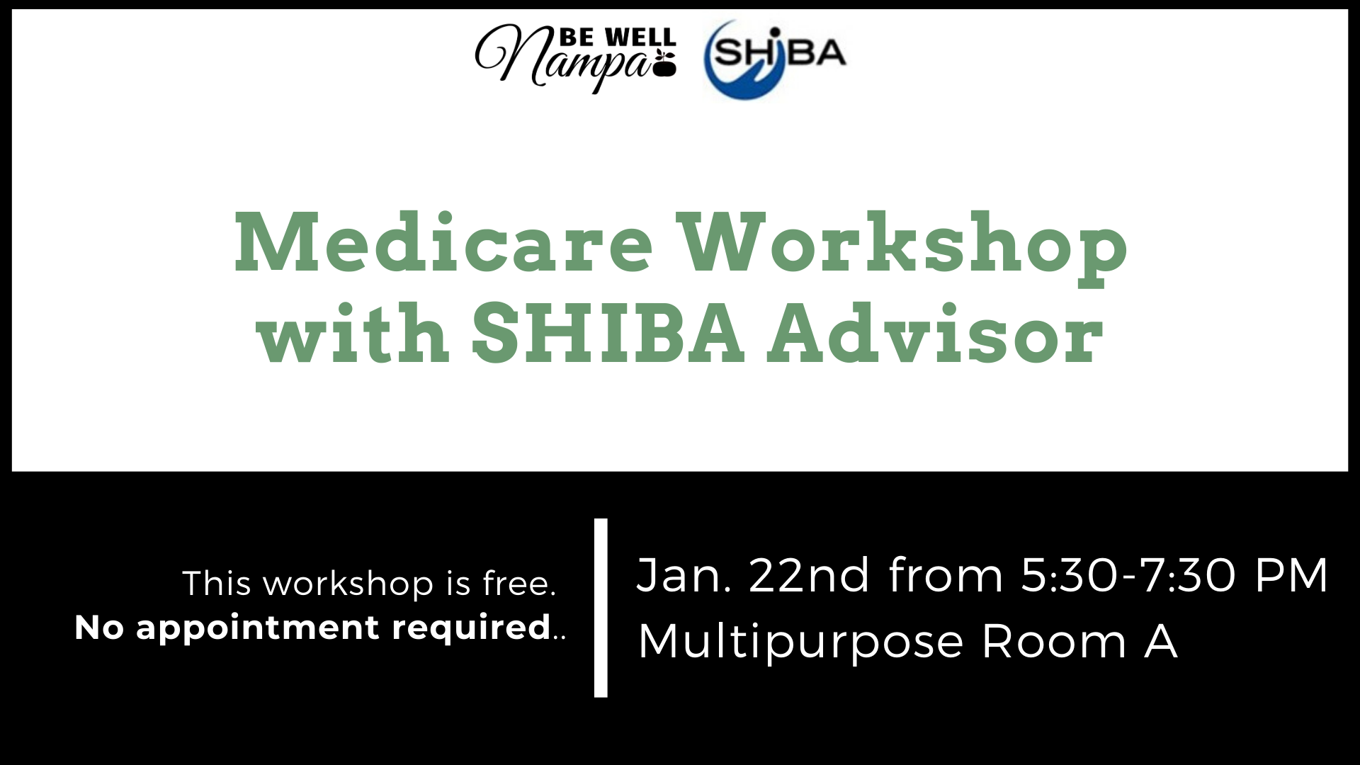 Medicare 101 with SHIBA