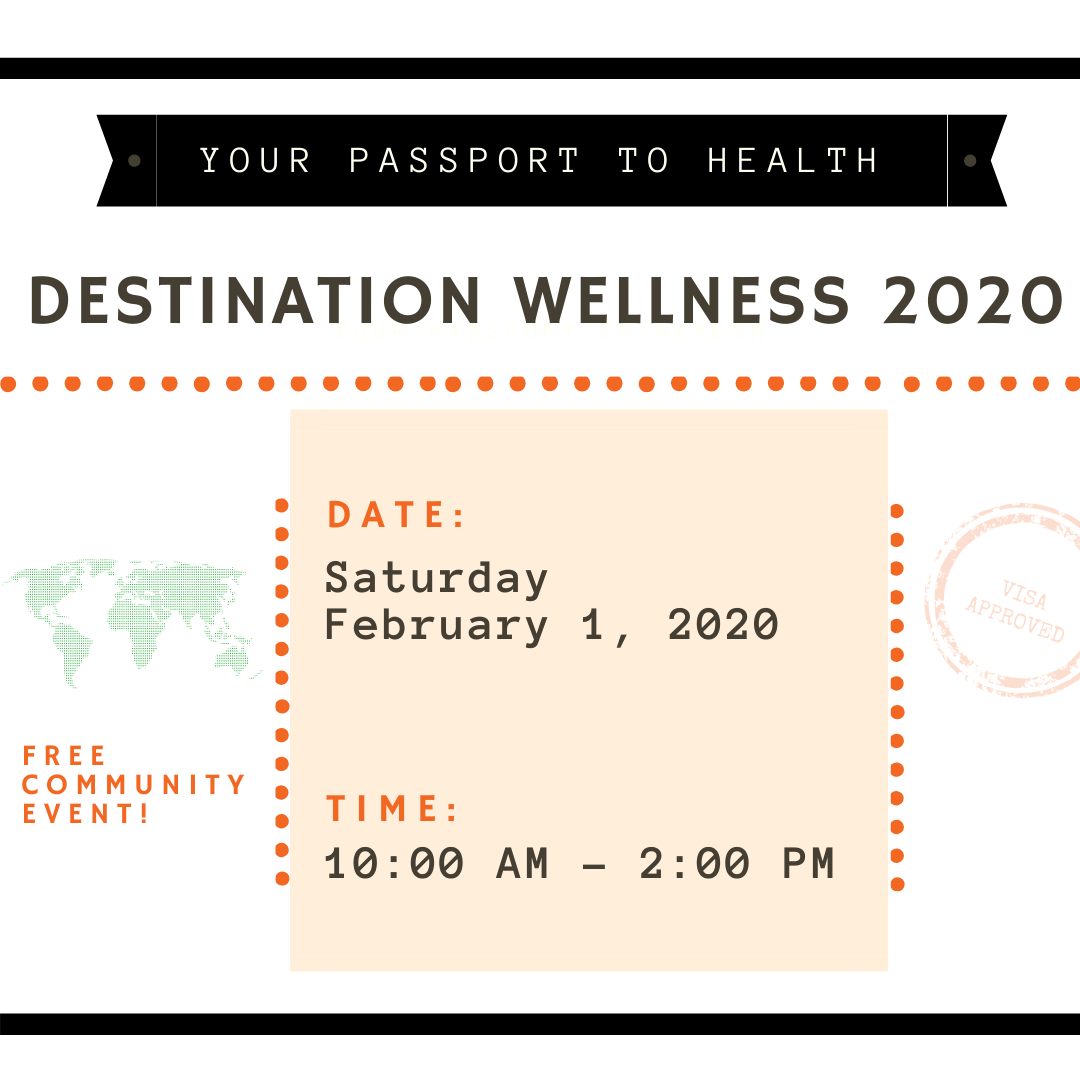 Destination Wellness Health Fair 2020