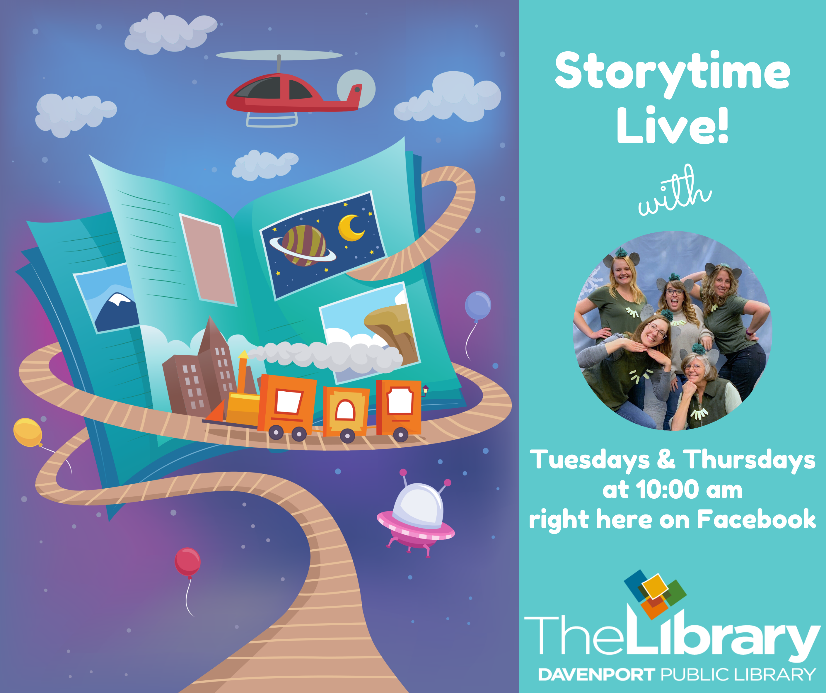 Storytime Live!