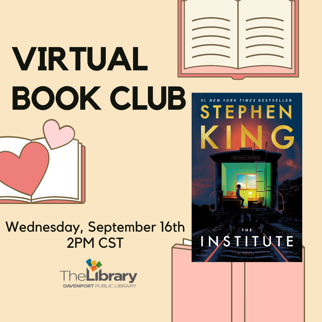 CANCELLED: Virtual Book Club