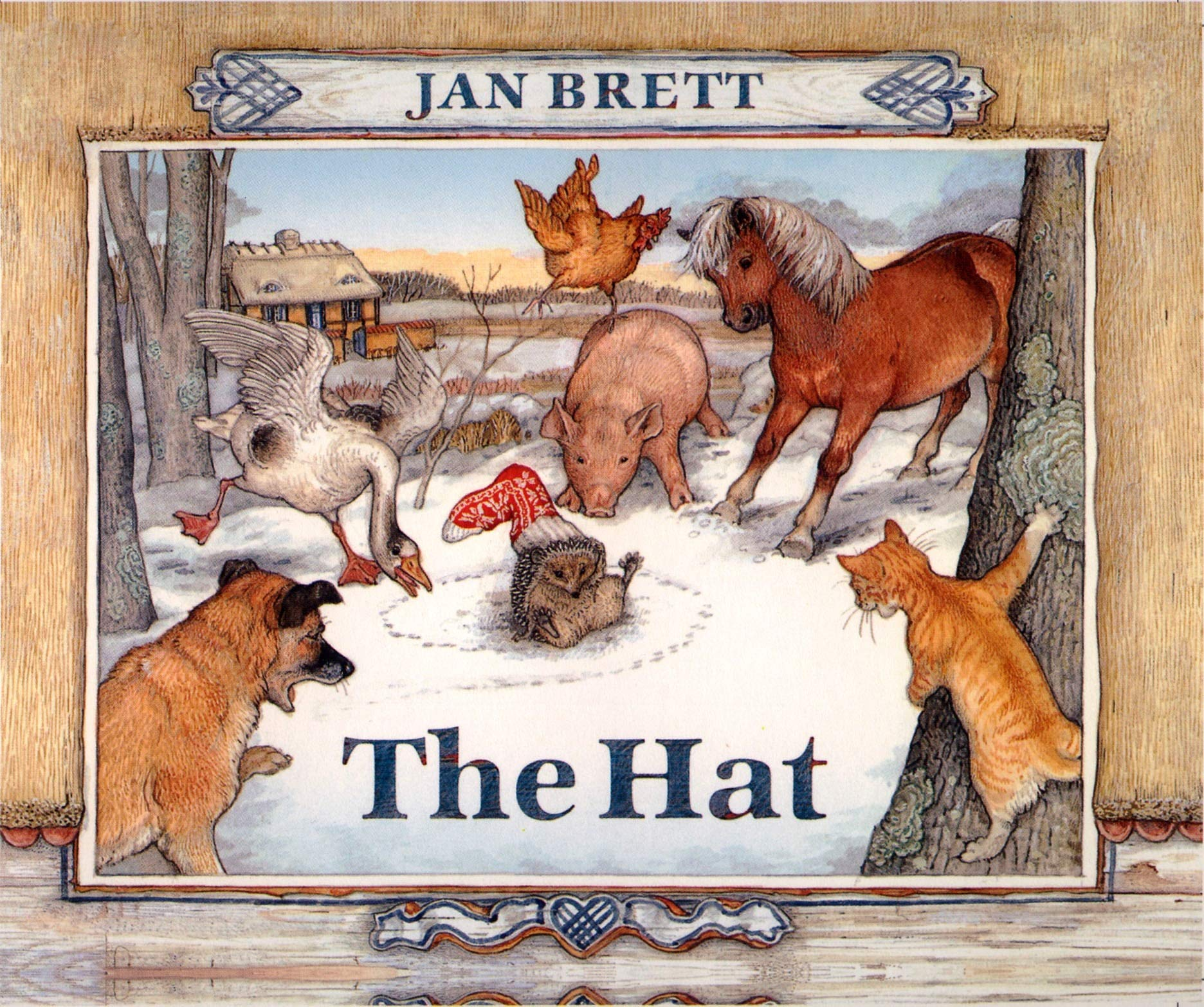 Story and a Craft: The Hat