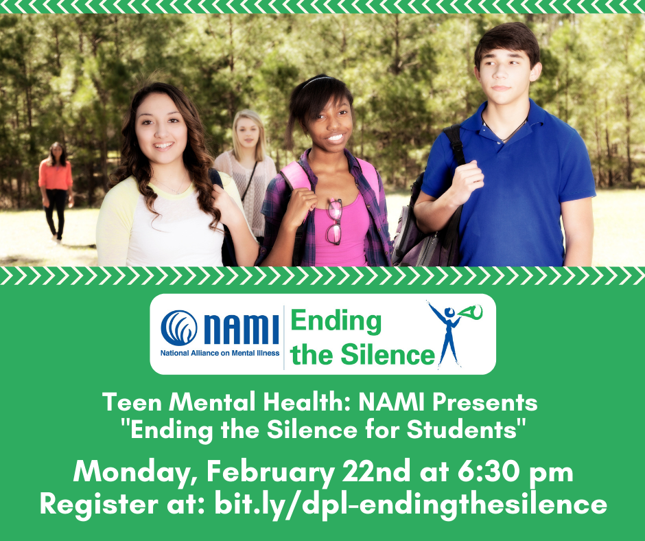 Teen Mental Health: NAMI GMV presents Ending the Silence for Students