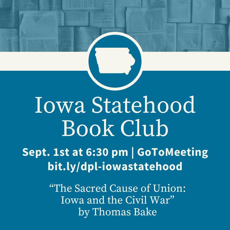 Iowa Statehood Book Club