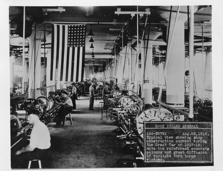 WWI Lecture Series: Rock Island Arsenal in World War I