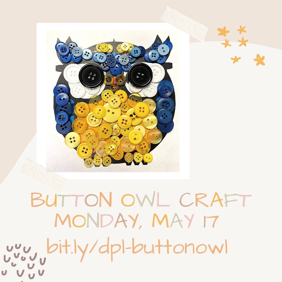 DIY Button Owl Craft