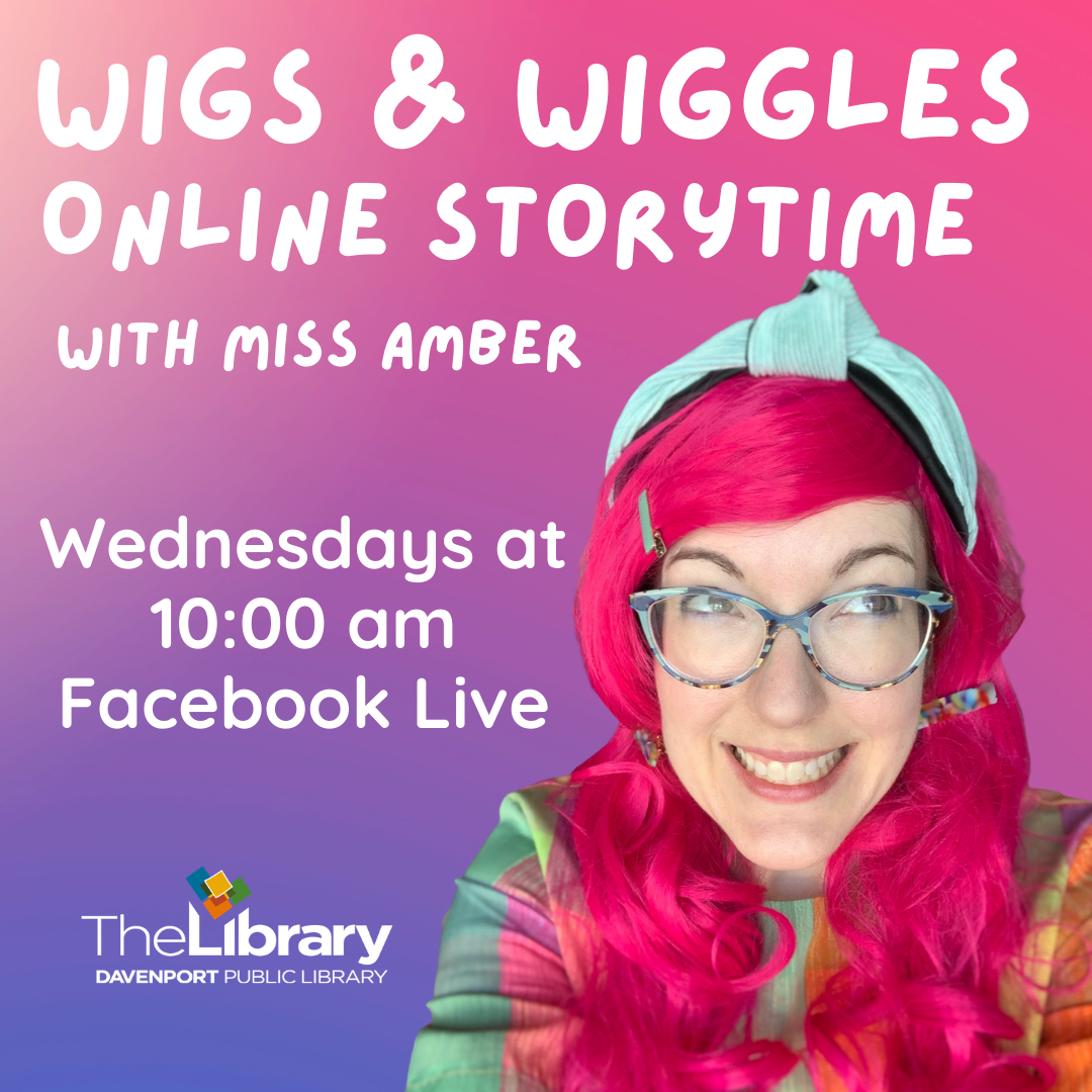 Wigs and Wiggles Online Storytime with Miss Amber!