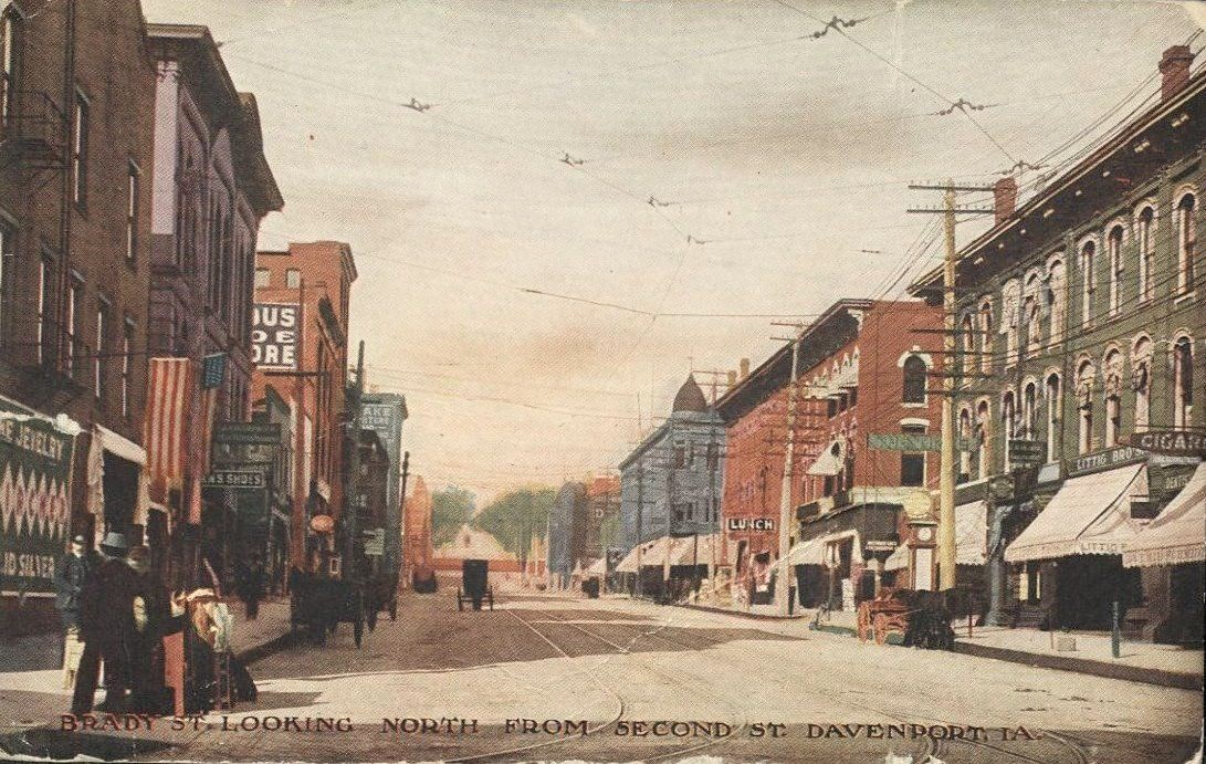 RESCHEDULED: Race Through Davenport's Past: History and Architecture Along the Bix 7 Route - Part II