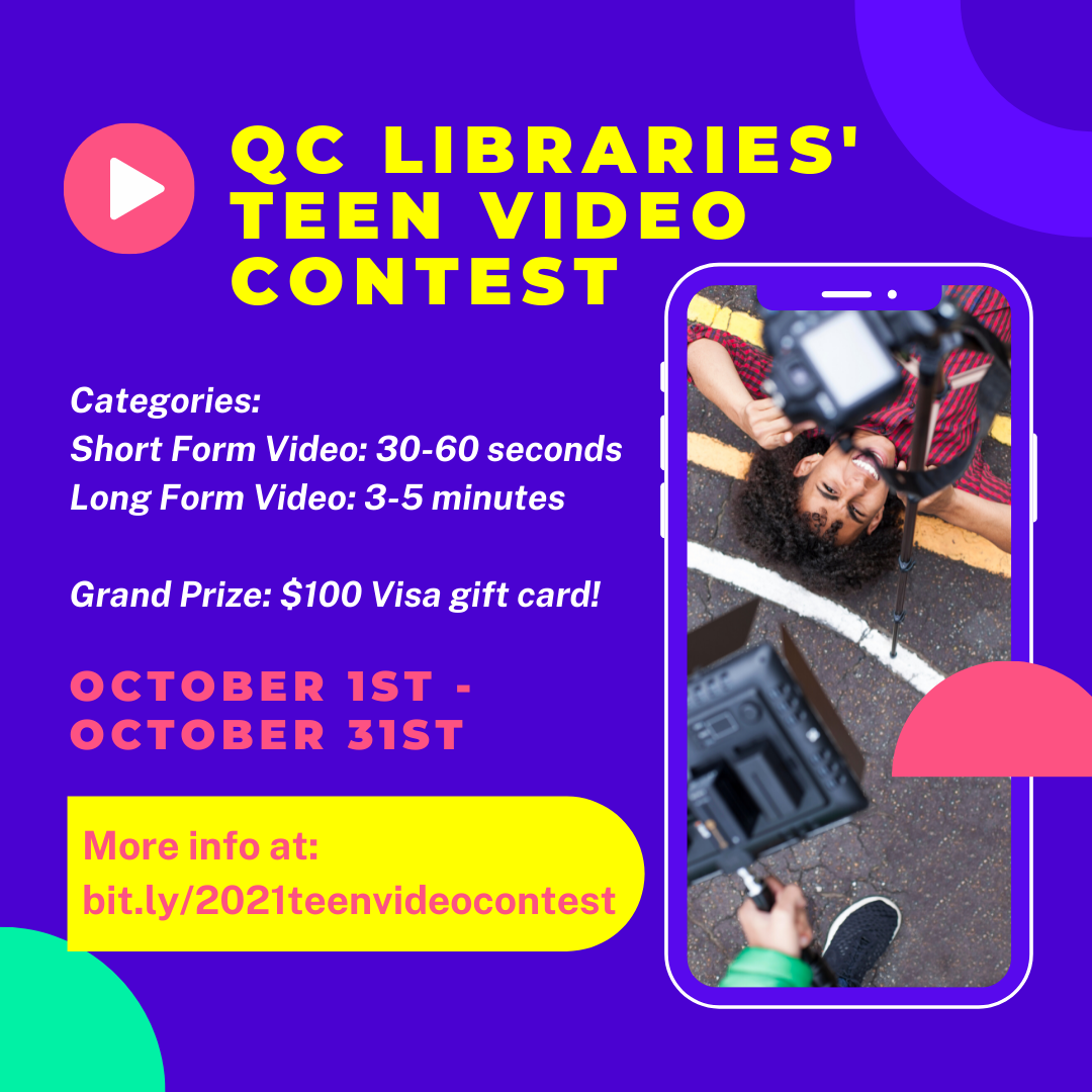 QC Libraries' Teen Video Contest