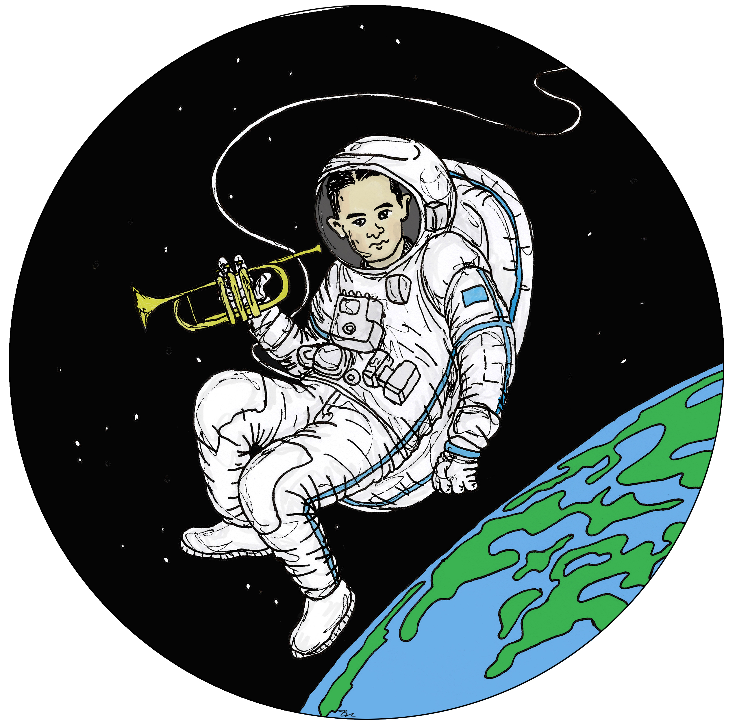 Bix in Space! Summer Reading Finishing Celebration & Bix Porch Party