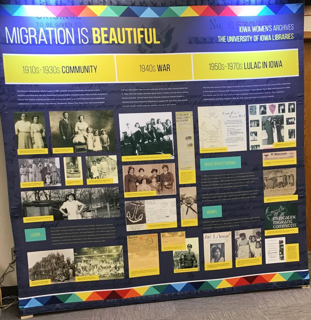 Migration is Beautiful exhibit