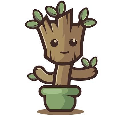 Teen Groot Planters