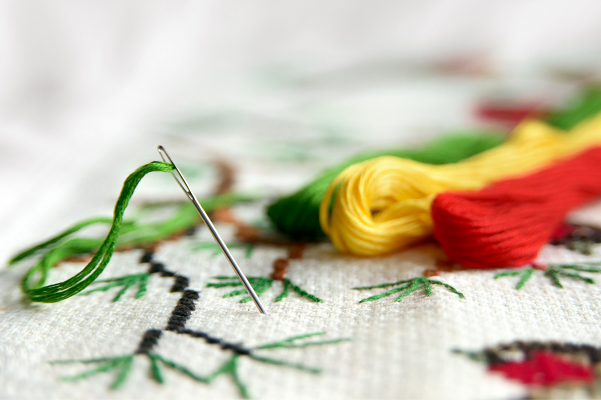 Needlecraft: Basic Hand Embroidery