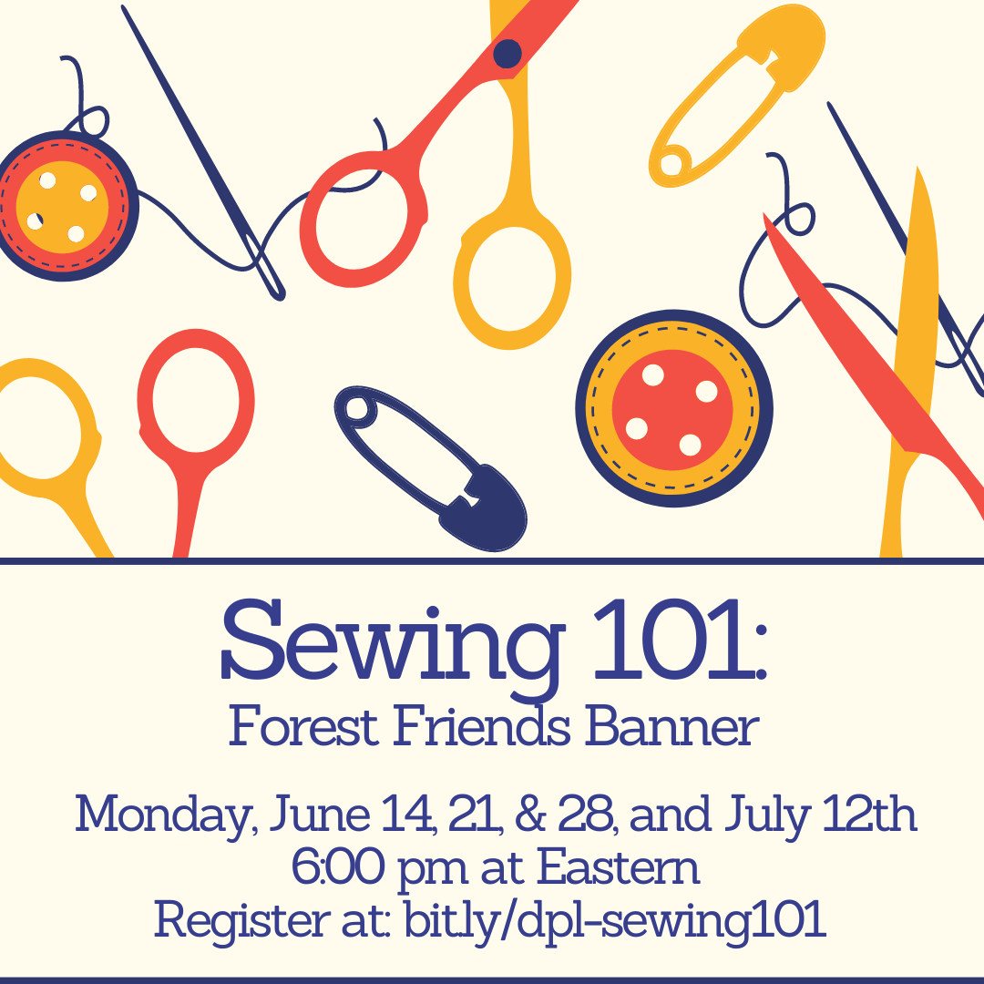Sewing 101: Forest Friends Banner