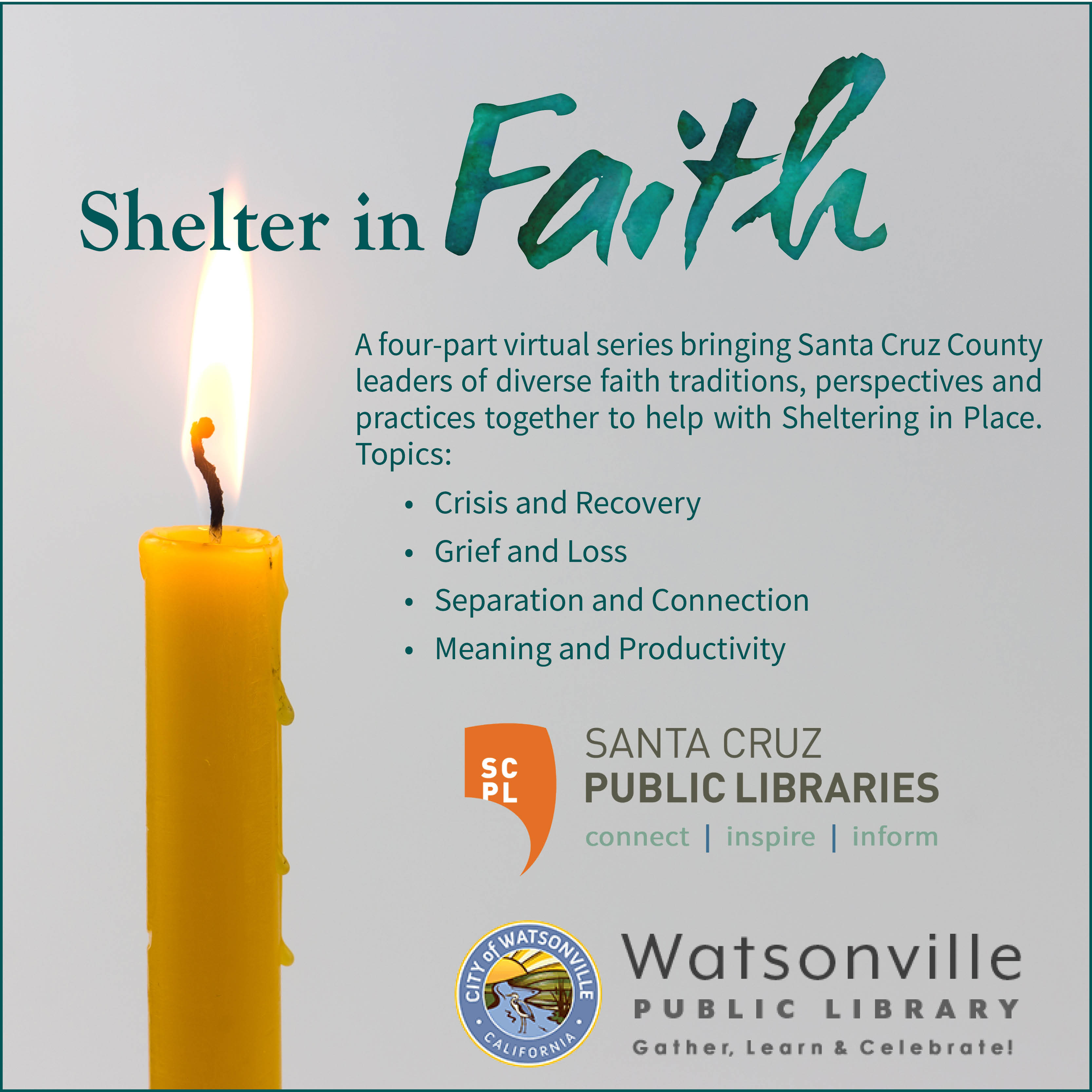 Shelter in Faith: Part 1 - Crisis & Recovery
