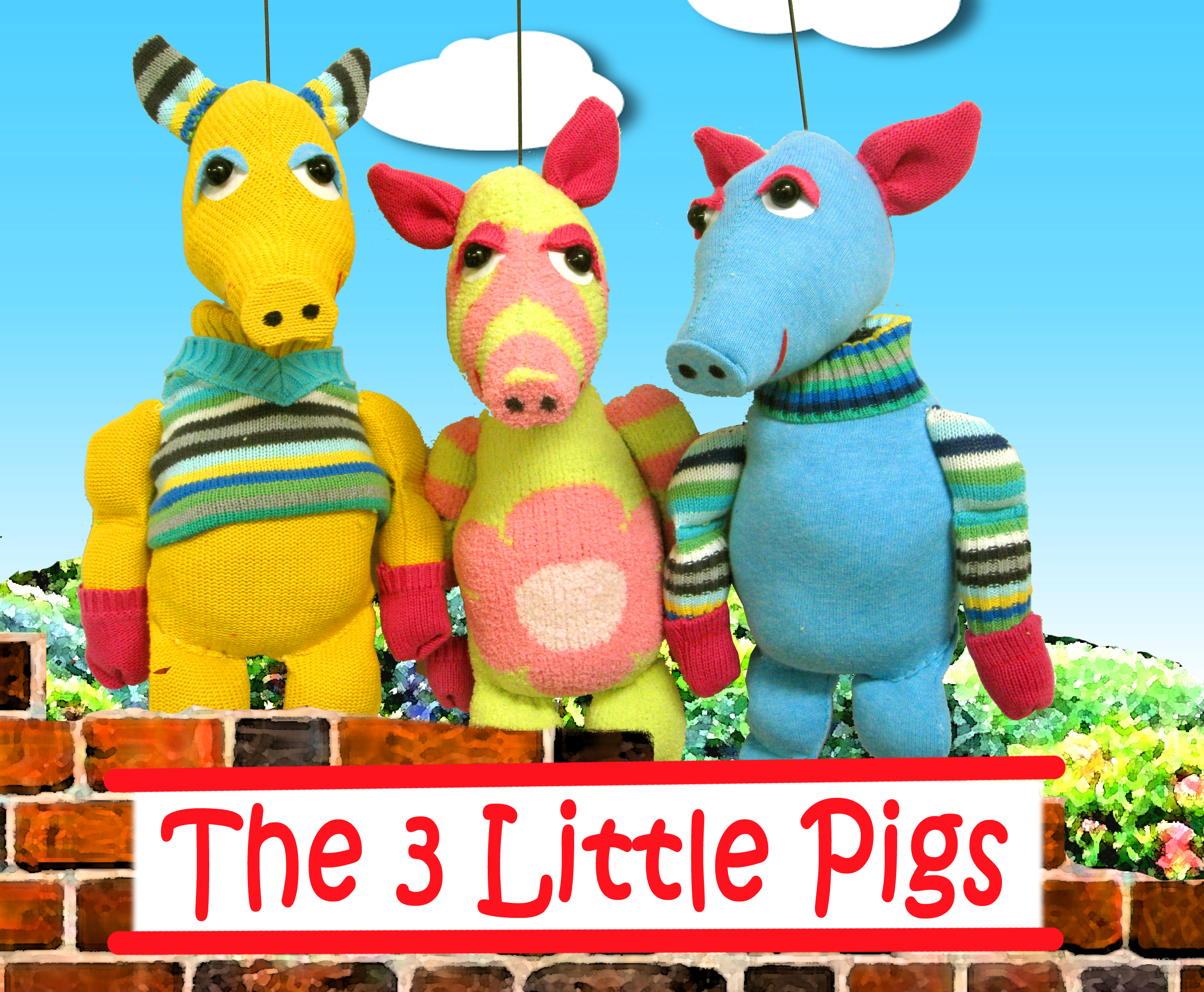Magical Moonshine Theatre presents The Three Little Pigs