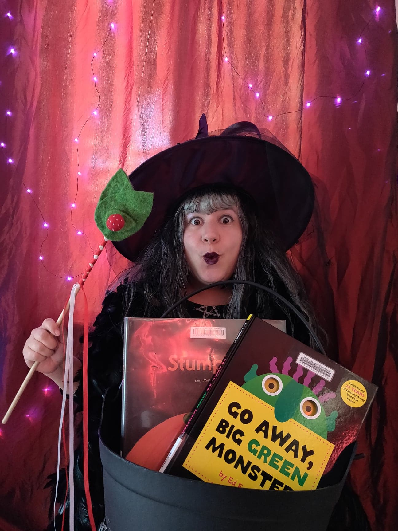 Halloween Storytime Spooktacular with Librarian Jackie