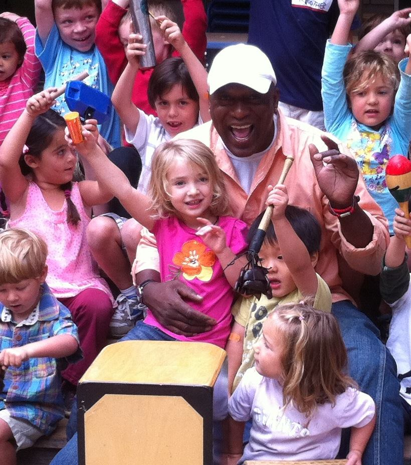 James Henry House of Samba Kids Outdoors Event at Anna Jean Cummings Park in Soquel