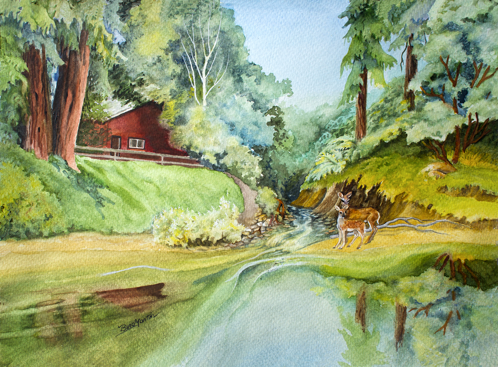 """Art in the Library – """"Nature's Song"""" Art Reception @ Scotts Valley"""