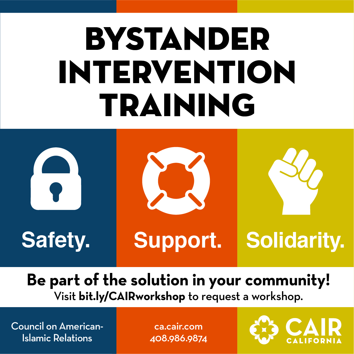 Bystander Intervention Workshop @ Downtown