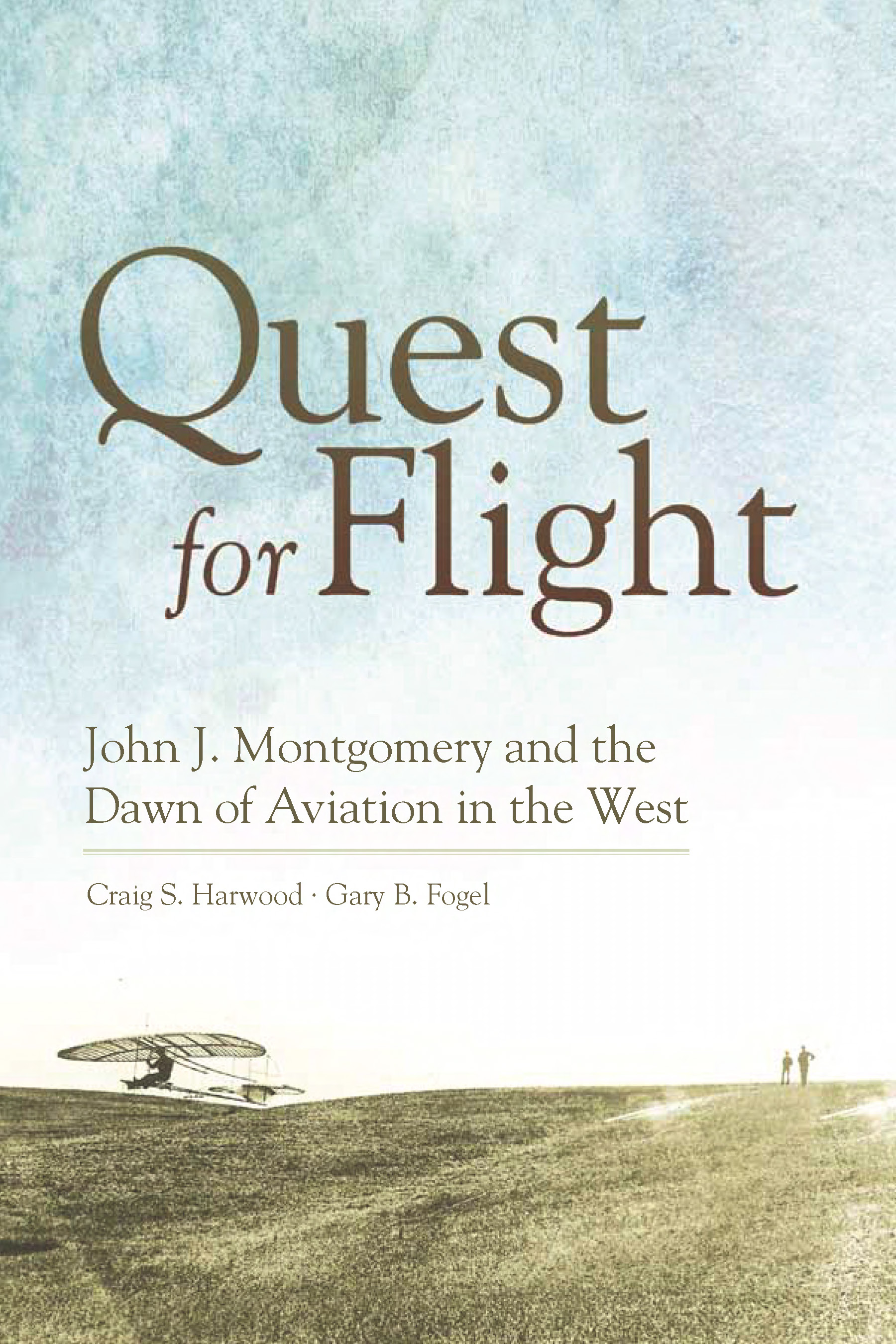 Quest for Flight - Local Author Talk by Craig Harwood