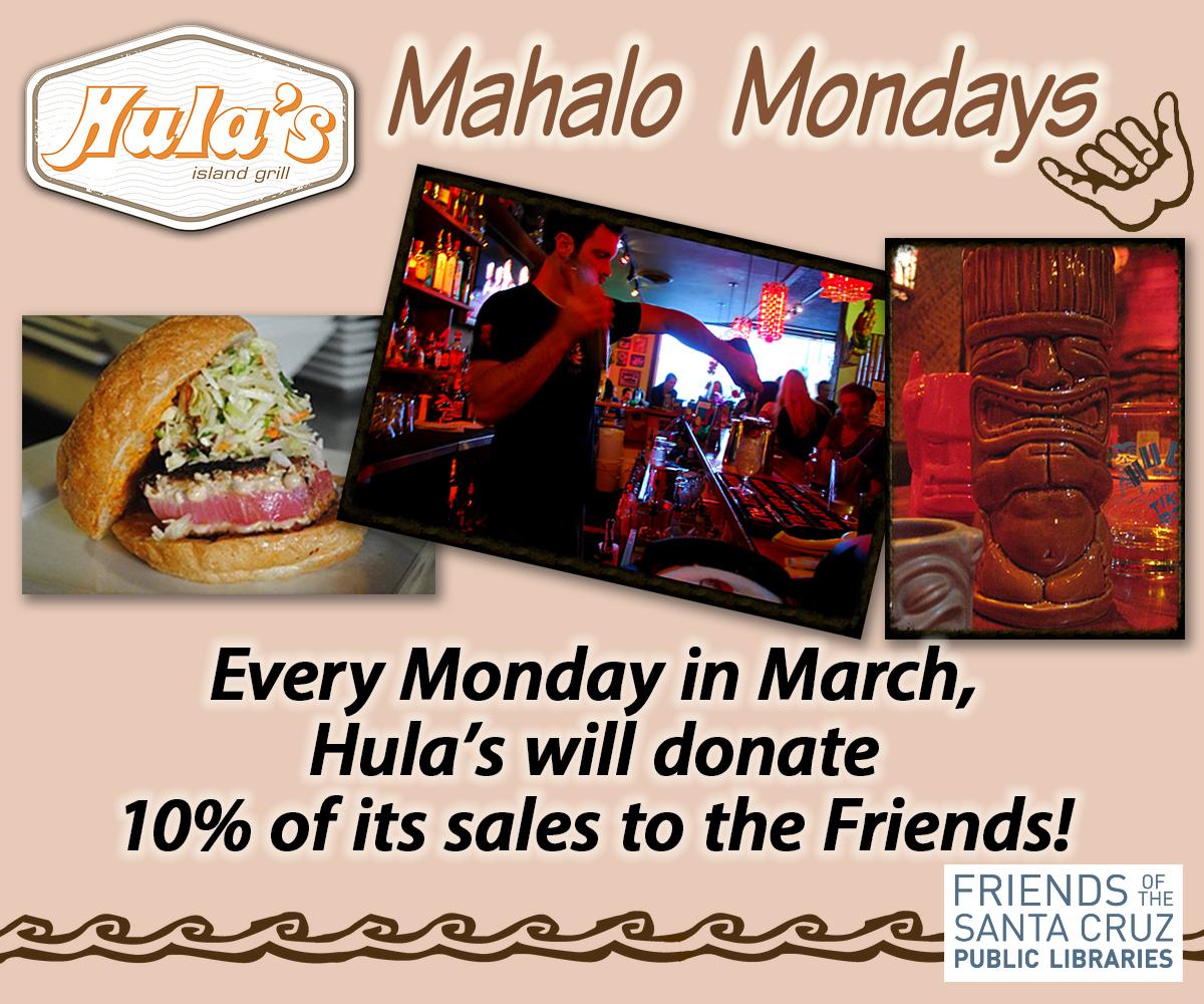 CANCELLED: Hula's Mahalo Monday for FSCPL