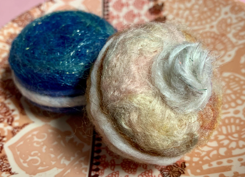 Teen Take & Make: Needle Felted Macaron
