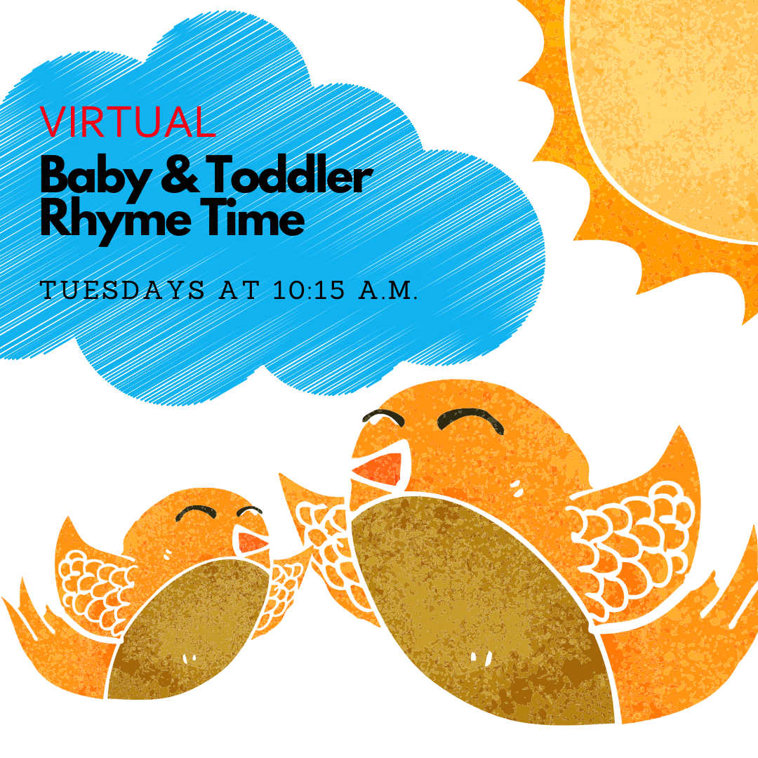 "Baby & Toddler Virtual ""Rhyme Time"""