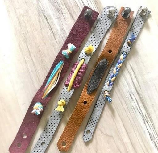 Leatherwork in Jewelry Making (For Teens)