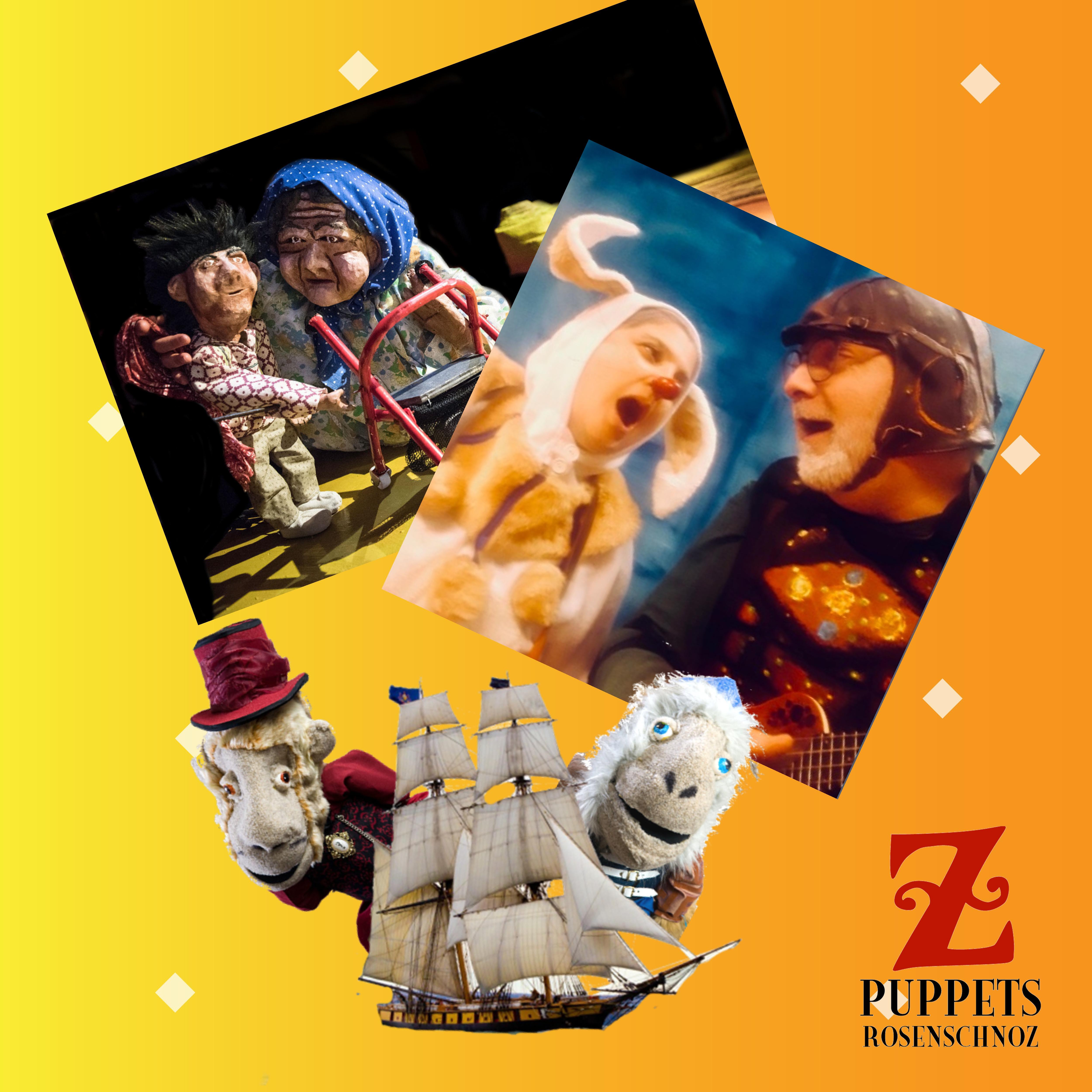 The Secret Life of Puppets - Z Puppets Rosenschnoz - Live via Zoom