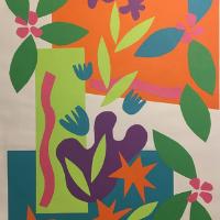Botanical Cut-Paper Collage - Art for Kids